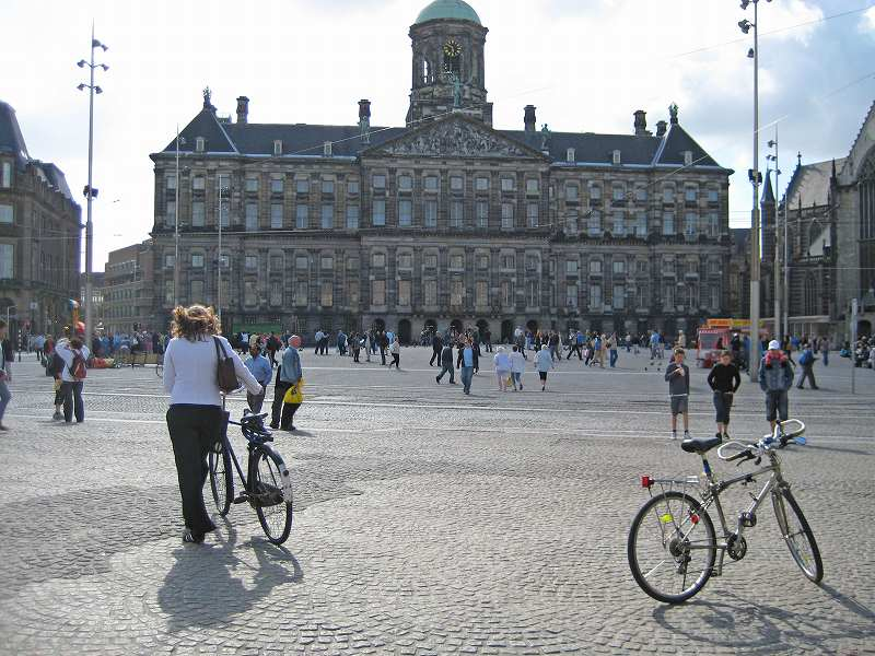 自転車王国オランダ